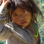 Enfant au Népal