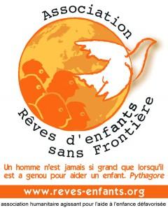 Autocollant Rêves d'Enfants Sans Frontières